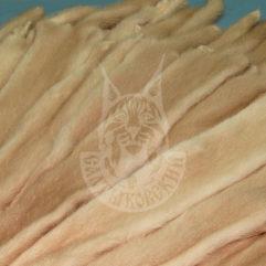 Шкурки норки выделанные (Паломино)